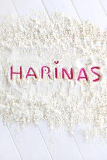 Foto de los tipos de harina