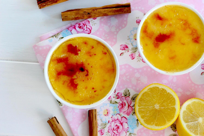 Foto de la receta de Como hacer crema catalana casera