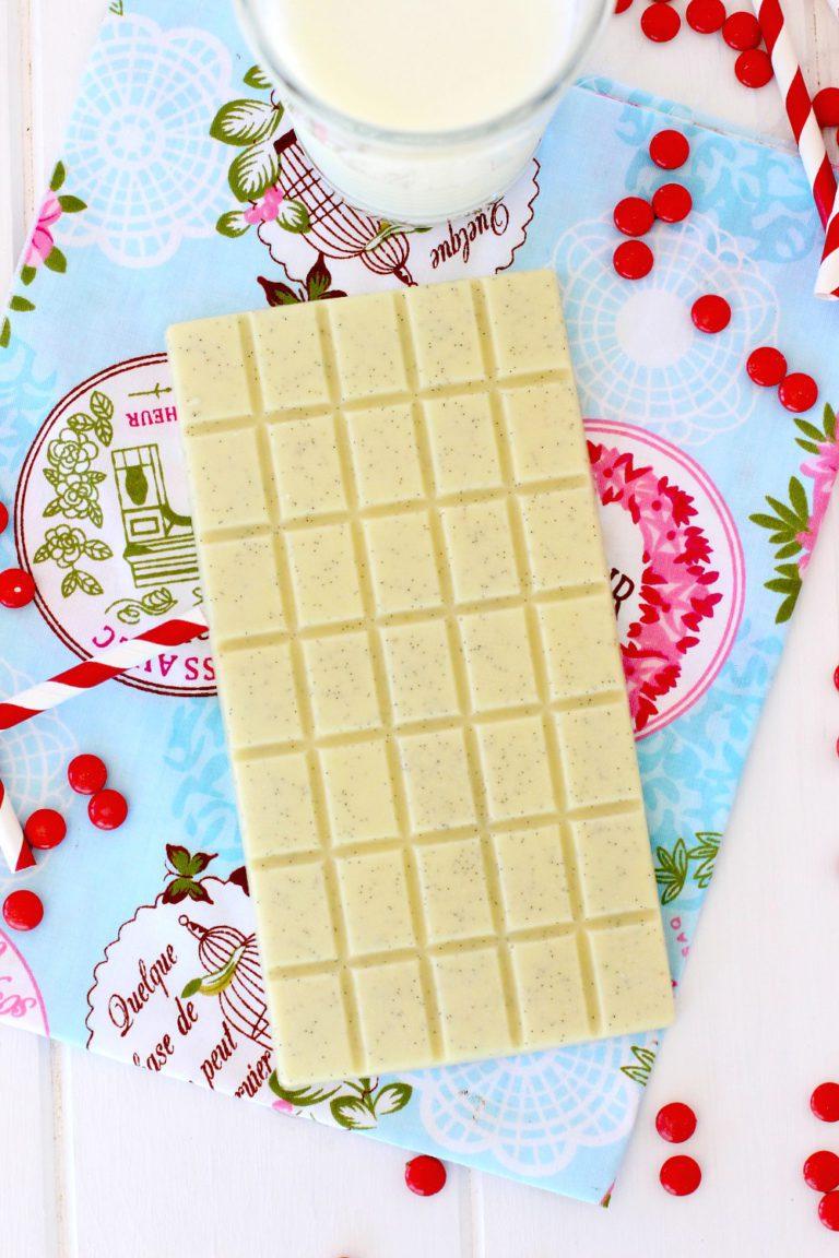 Foto de la Receta de chocolate casero - Receta de chocolate blanco