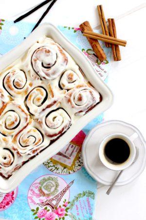 Foto de como hacer cinnamon rolls - Receta de cinnamon rolls - Receta de rosca de canela - Como hacer rosca de canela - (1)-min