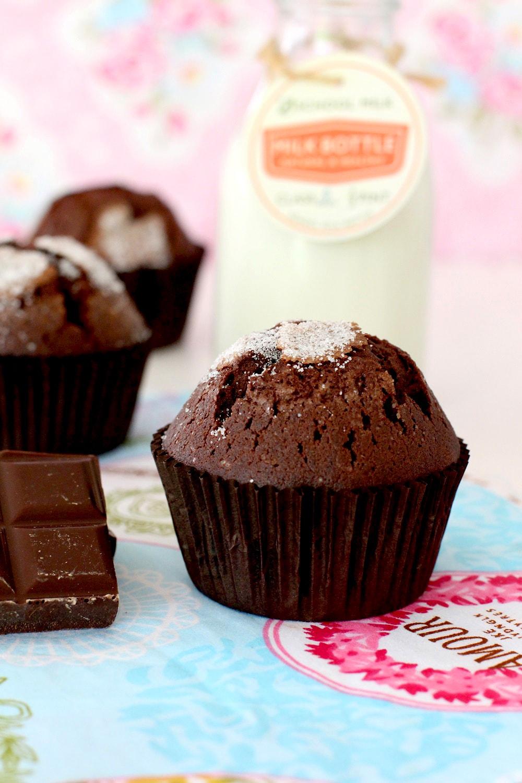 Como Hacer Magdalenas De Chocolate Tradicionales