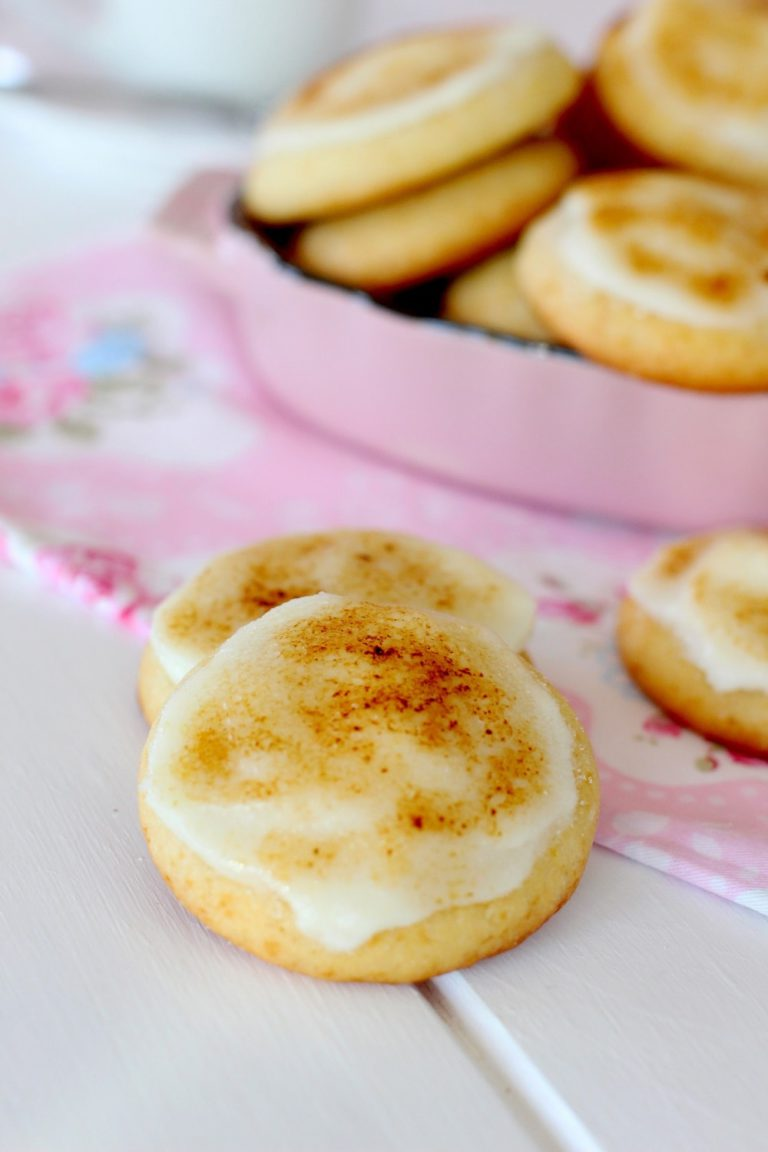 Foto de la receta de galletas de crema catalana