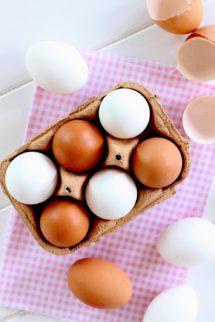 Foto Propiedades de los huevos - Tipos de huevos - tamaños de los huevos de gallina - Huevos de gallina - -min