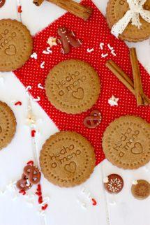 Receta de como hacer galletas speculoos caseras - Recetas de galletas speculoos - Galletas navideñas