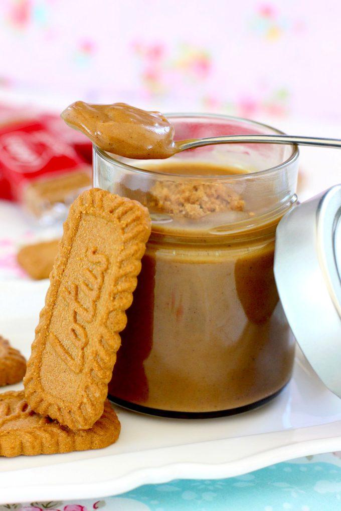 Receta de crema de galletas Lotus casera - Galletas lotus - Crema dulce casera