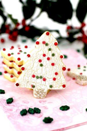 Foto de la receta de galletas de mantequilla decoradas para Navidad
