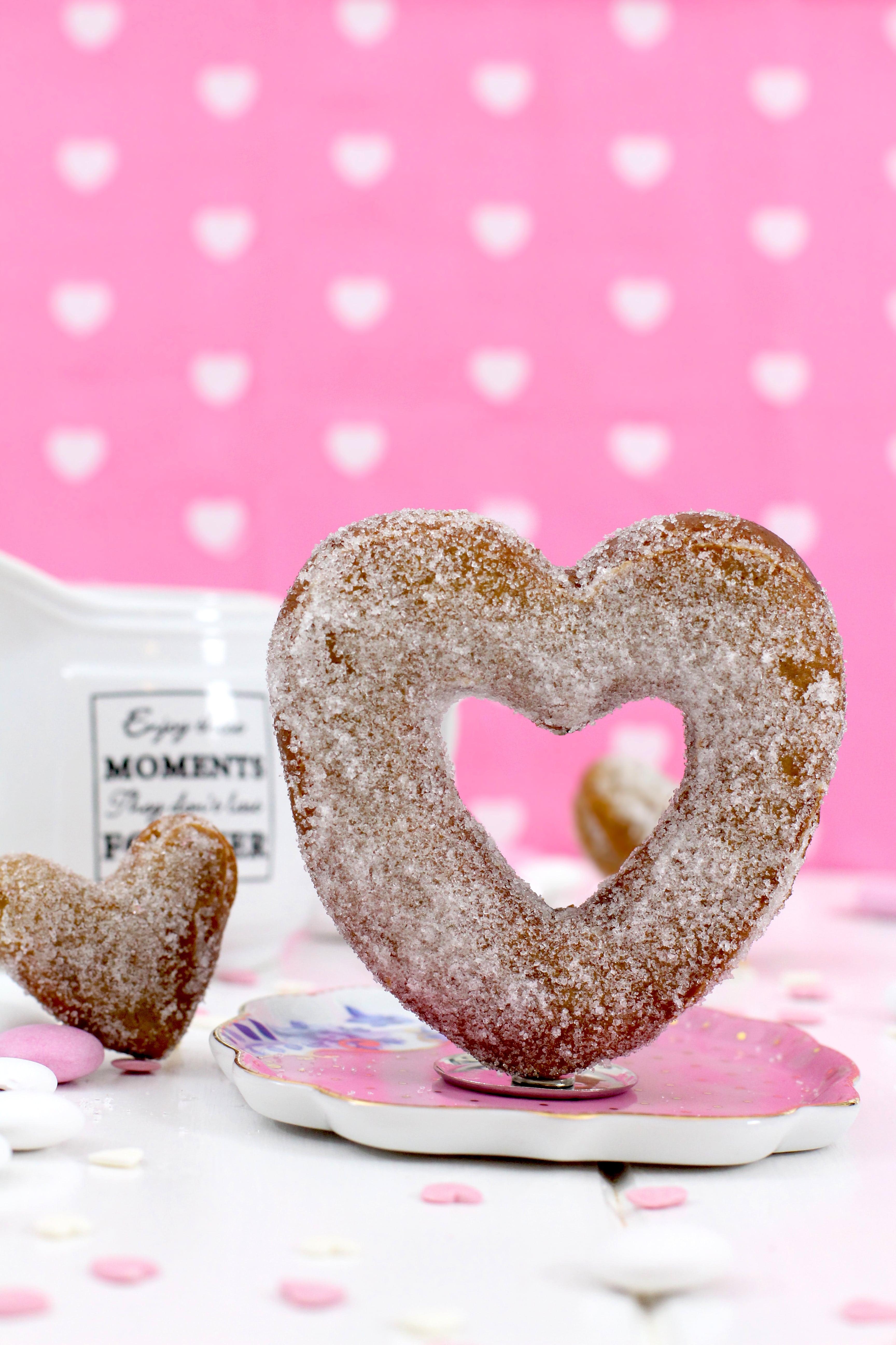 Foto de la Receta de donuts para San valentÍn - Donuts con sabor speculaaas