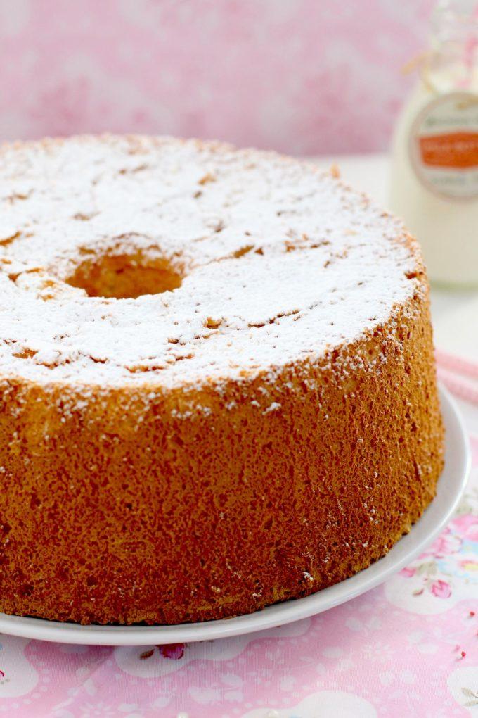 Bizcocho Super Esponjoso Angel Food Cake