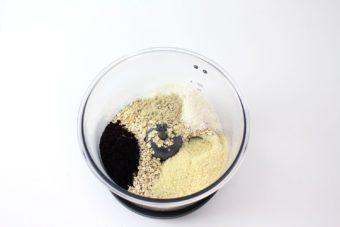 Foto de la Receta de Bolitas de coco veganas con proteina.