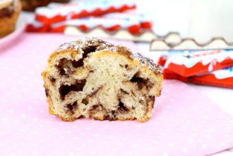Foto de la Receta de Croissants de chocolate Kinder