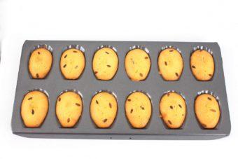Foto de la receta de madeleines de aceite de oliva virgen extra y azahar