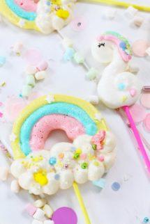 Foto de la Receta de merengues de unicornio
