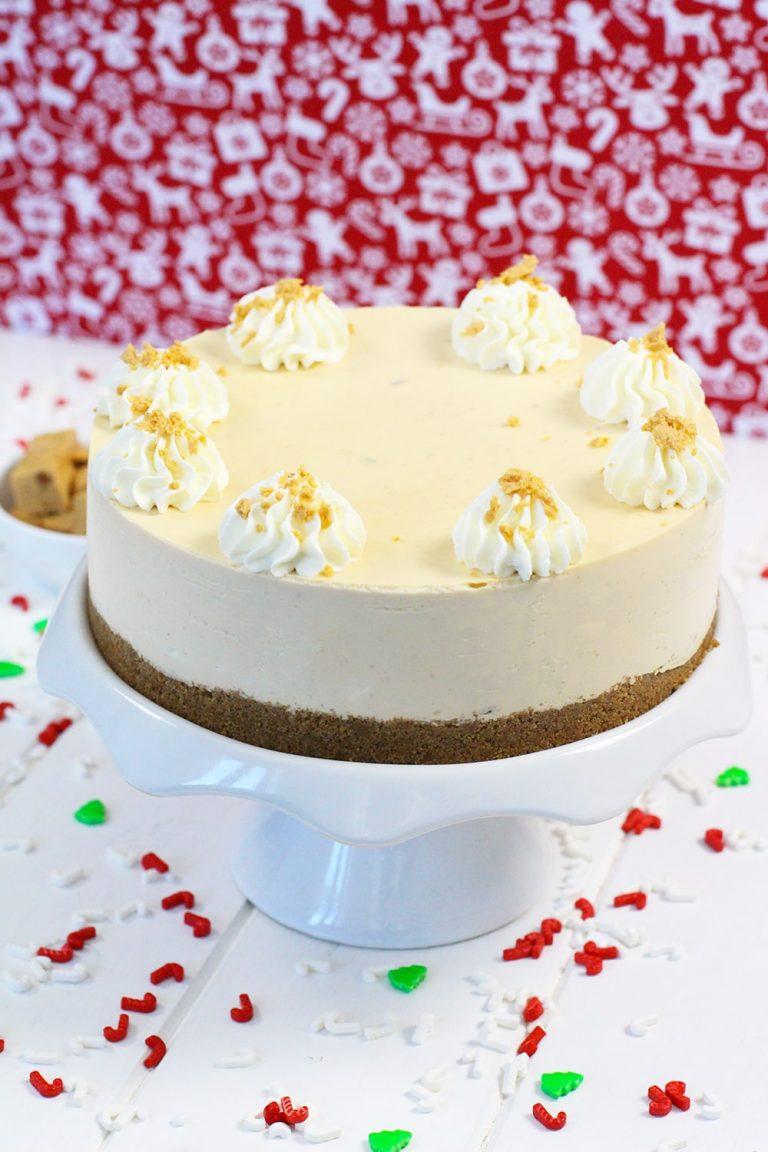 Receta de cheesecake de turrón de jijona
