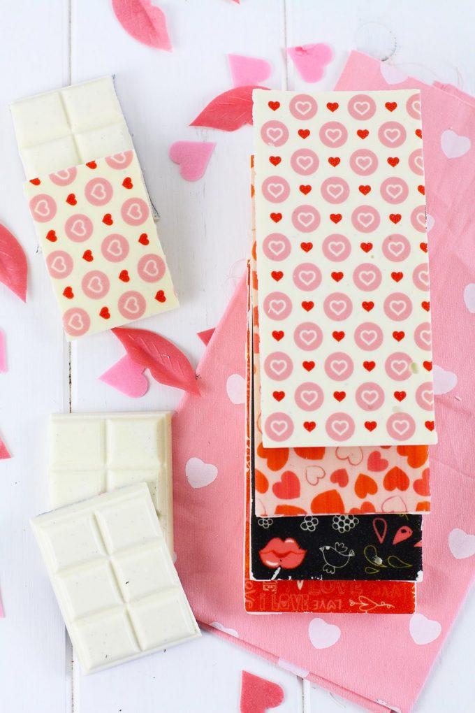 Como serigrafiar chocolate - chocolate con transfer - chocolate blanco casero