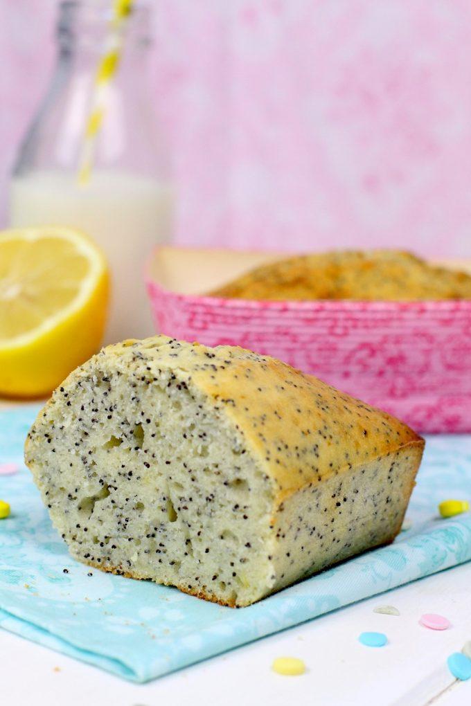 Como hacer bizcocho de limón y semillas de amapola