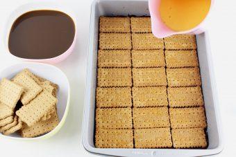 Como hacer tarta de la abuela con flan tradicional
