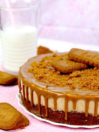 Cómo hacer tarta de queso y galletas Lotus sin horno