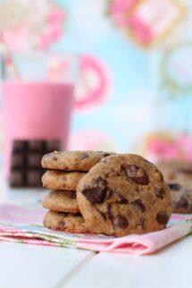 Como hacer galletas americanas con chocolate crujientes - American cookies