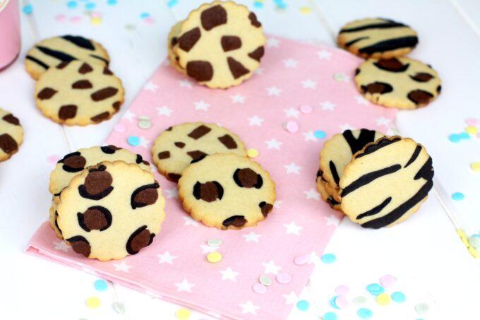 Cómo hacer galletas de mantequilla animal print- Galletas decoradas con estampado animal elaboradas por Lolita la pastelera