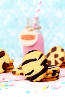 Cómo hacer galletas de mantequilla animal print- Galletas decoradas con estampado animal