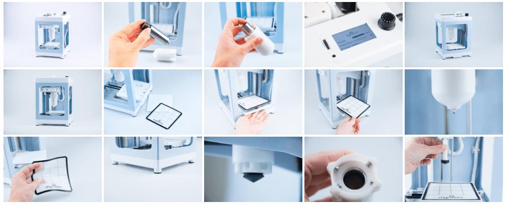 MyCusini 3D impresora de chocolate