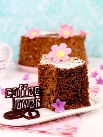 Bizcocho esponjoso de café