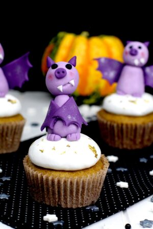 Cómo hacer cupcakes de calabaza y merengue fácil -