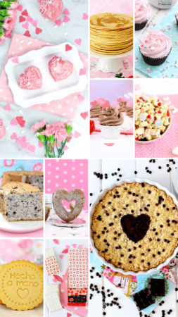 Recetas de postres fáciles para San Valentín