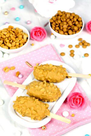 Cómo hacer helado magnum de snickers casero sin máquina heladera