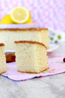 Foto de la receta de bizcocho de limón y canela