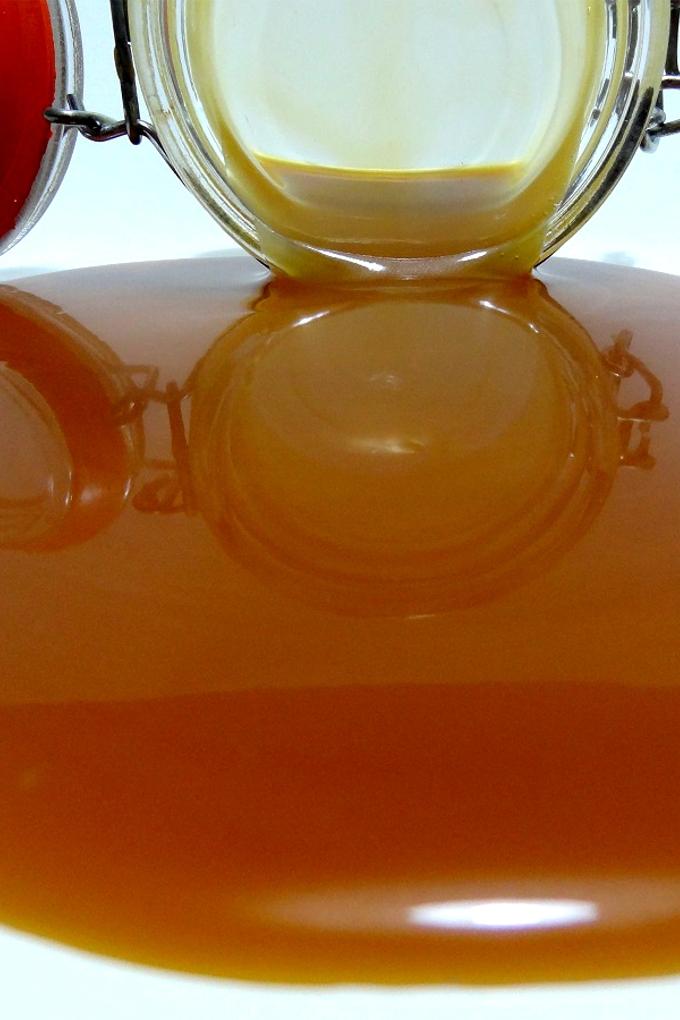 Foto de la receta de sirope de caramelo casero