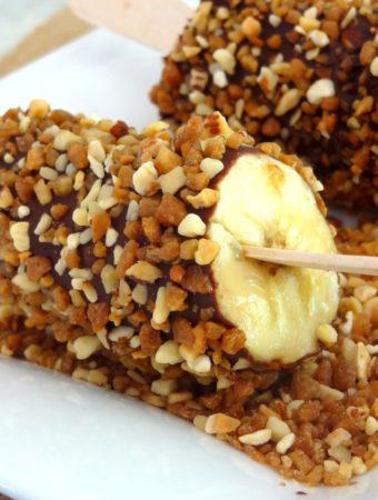 Foto de la receta de choco bananas