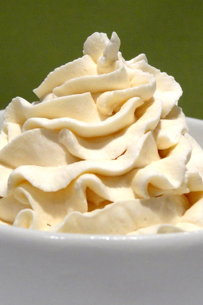 Foto de la receta de crema chantilly casera