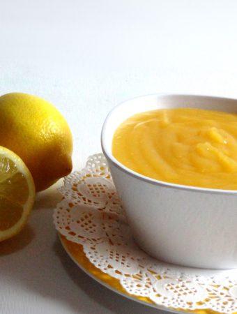 Crema de limón casera (Lemon ...