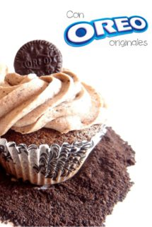 Foto de la receta de cupcakes de Oreo