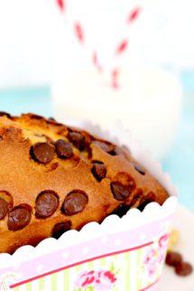 Foto de la receta de plumcake de chocolate y nueces
