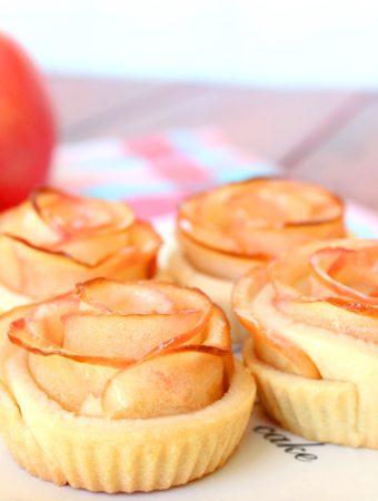 Foto de la receta de rosas de manzana