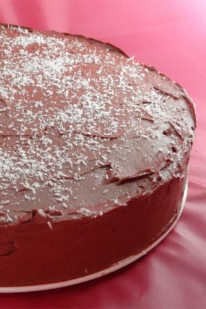 Fotos de la receta de tarta de galletas con chocolate