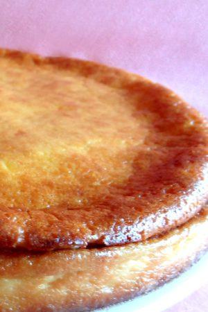 Foto de la receta de tarta de queso al horno