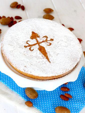 Foto de la receta de tarta de Santiago original