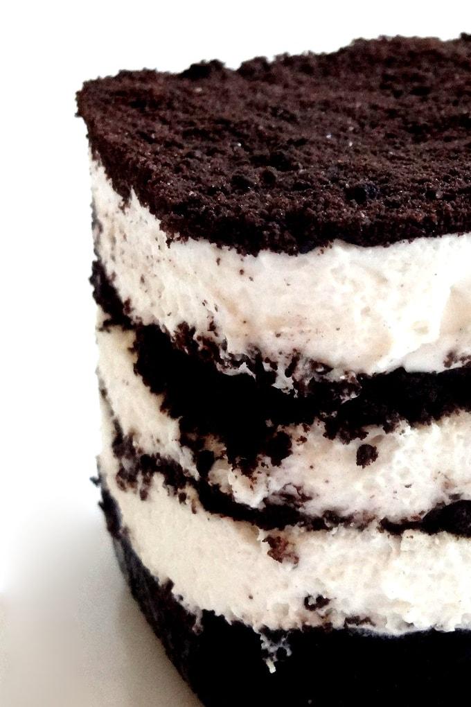 Foto de la receta de tarta de Oreo casera