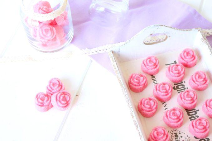 Foto de como hacer terrones de azúcar en forma de flor