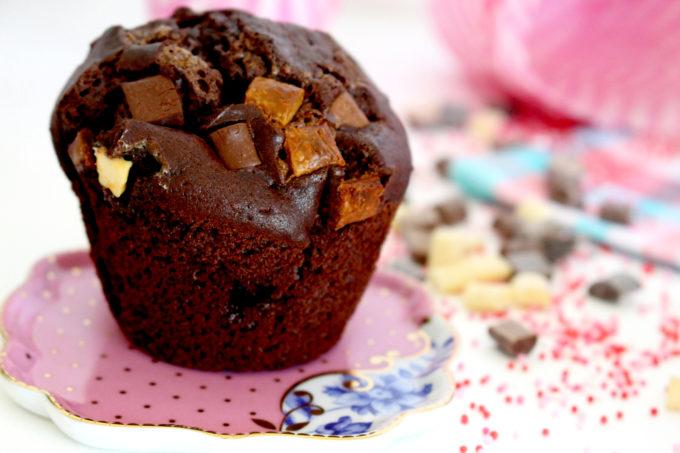Foto de la receta de muffins de chocolate
