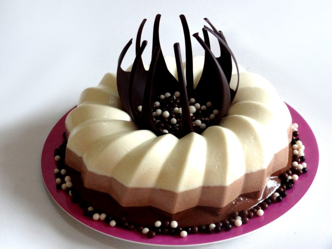 Foto de la receta de tarta de 3 chocolates