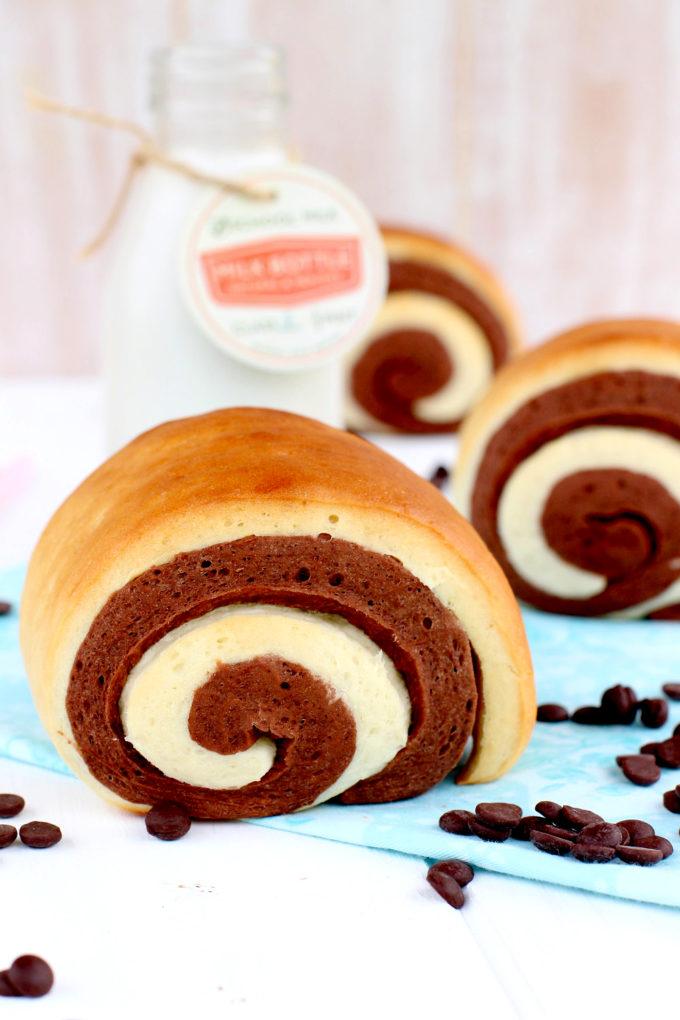Como Hacer Pan De Leche Con Chocolate