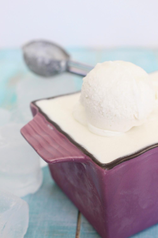 Foto de la receta de helado de nata cremoso