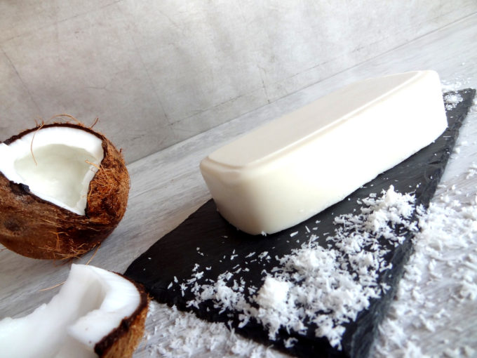 Foto de la receta de manteca de coco casera