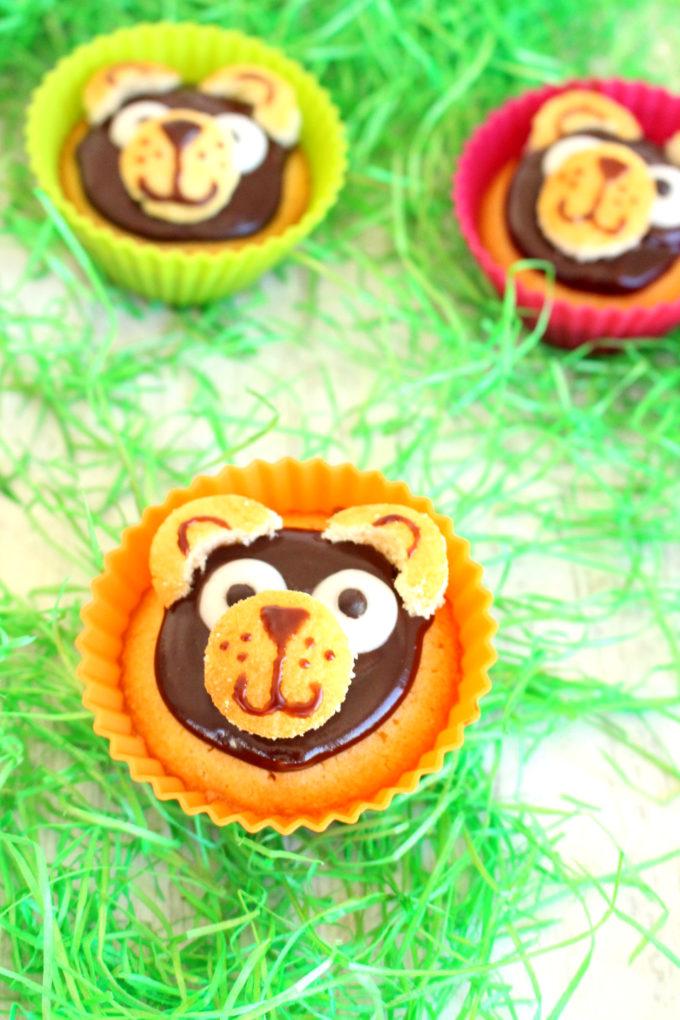 Foto de la receta de cupcakes infantiles de ositos