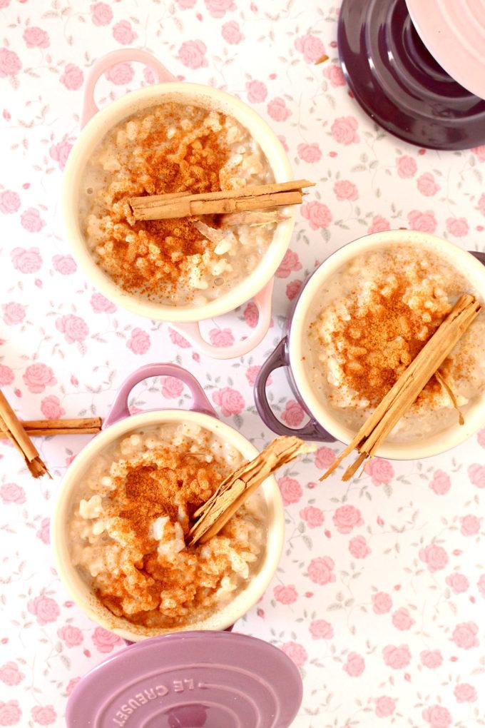 receta horchata de arroz casera