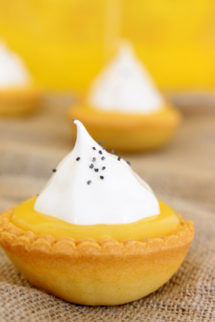 Foto de la receta de lemon pie con merengue